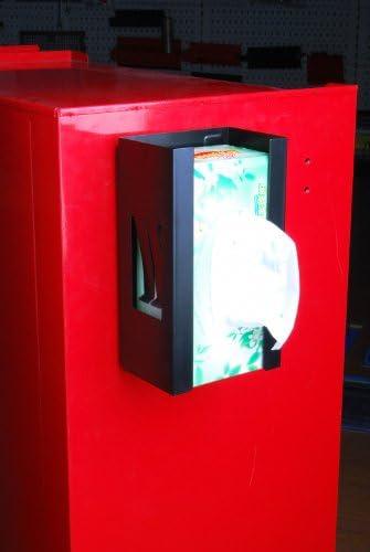 Magnetischer Halter f/ür Einweghandschuhe und Taschentuch-Box//Handschuhhalter Handschuhspender o. Taschentuchspender ROT