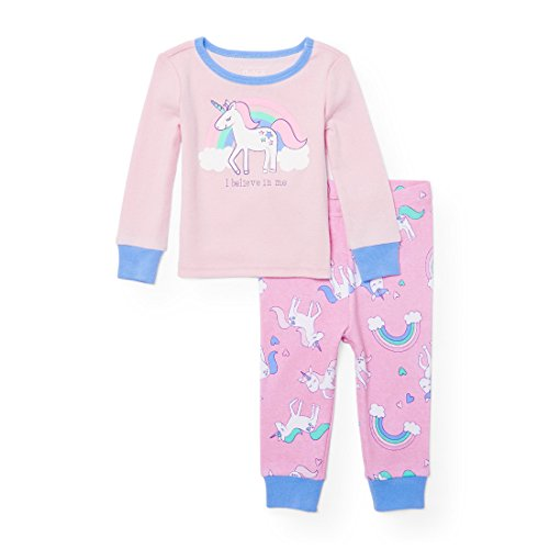 The Childrens Place Baby Top And Pants Pajama Set Cameo 91333 6 9Months