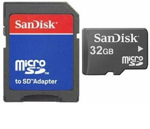 32GB Micro SD SDHC Tarjeta de tarjeta de memoria Memory Card + Adaptador SD para Huawei Ascend G6G620s G7Mate 78S P7Y100Y360y540Y550y625y635g Play Mini G6609G7300G8M
