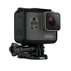 Overview Capture different with HERO5 Black. Share immersive 4K perspectives that make you feel like you're there. HERO5 Black makes it easy with its one-button simplicity, convenient touch display and ready-to-go waterproof design. Smooth, s...