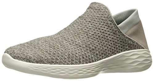 Women's Shoe Skechers On Taupe Slip Movement You zddHTw