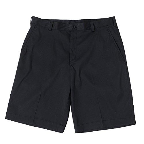 Nike Mens Dri-Fit Flat Front Tech Golf Shorts-Black-30