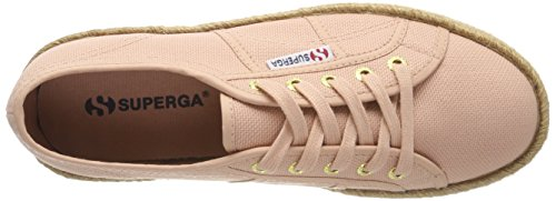 Superga Chaussures Femme Sneakers Avec Plateforme S0099z0 G29 2790 Cotropew Rose