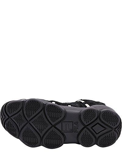 Zapatos De Baloncesto De Espagueti Hightop Fila Hombres Zapatillas De Deporte De Crema De La Crema De Los Hilos De Los Hilos Negro / / Precio barato popular 5GBufx