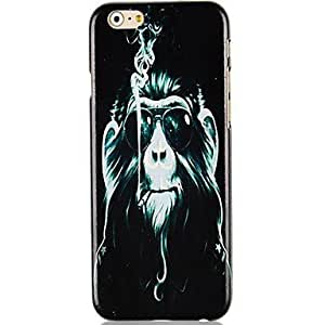 Cartoon Gorilla Pattern Hard Back Case for iPhone 6