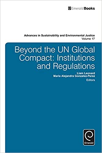 Beyond the UN Global Compact:Institutions and regulations ...