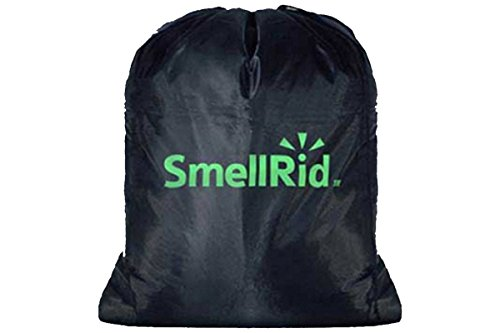(SMELLRID Reusable Activated Charcoal Odor Proof Bag: Large 24
