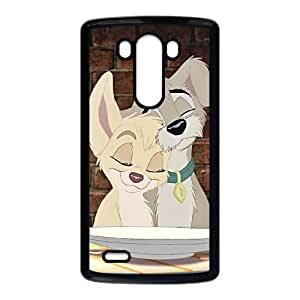 LG G3 Cell Phone Case Black Lady and the Tramp II Scamp's Adventure 002 WH9480919