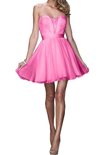 Missdressy - Vestido - plisado - para mujer rosa 56
