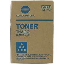 Konica TN310C Cyan Copier Toner (11500 Page Yield) (4053-701), Works for C350, C351, C450 by Konica-Minolta