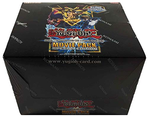 Konami Yu-Gi-Oh! Movie Pack Special Edition Display Box (10 Decks Per Display Box)