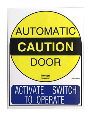 Norton Power Operator Switch Decals