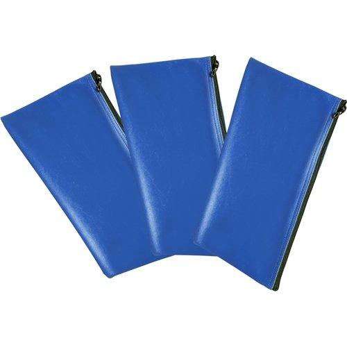 Honeywell 6503 Multi-Purpose Set of 3 Zipper Cash & Document Bags