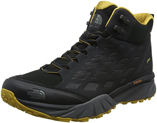 The North Face Herren Endurus Hike Mid Gore-Tex Trekking-& Wanderstiefel Grau (Phantom Grey/arrowwood Yellow)