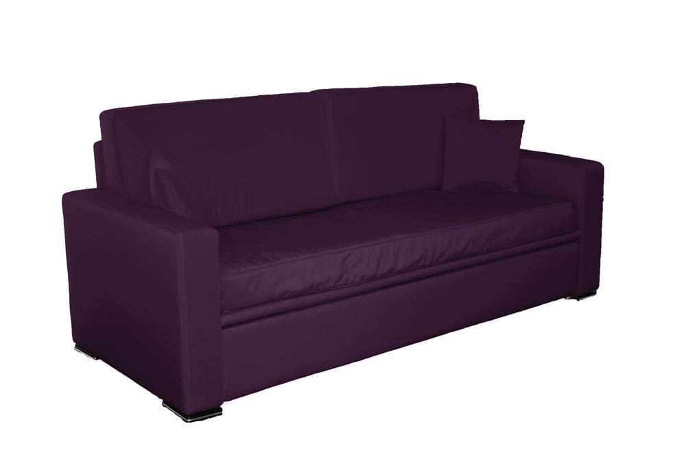 Ponti Divani Sofá cama con cama extraíble, incluido dos ...