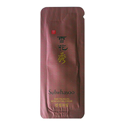 Sulwhasoo Timetreasure Renovating Cream 1mlx100ea korea cosmetic Sample by Sulwhasoo