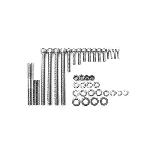 Stainless Steel Heavy Duty 66cc/80cc Engine Screw Set by KingsMotorBikes