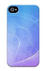 iPhone 4 4S Case Blue Swirls Background 3D Custom iPhone 4 4S Case Cover
