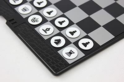 Shallen Pocket chess,Travel use chess,foldable board,magnetic piece,checkbook size chess