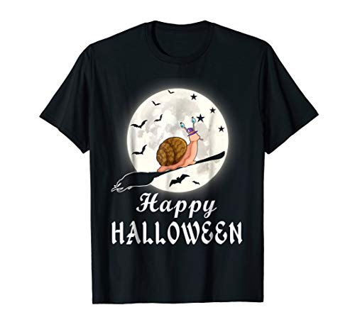 Happy Halloween Snail Costume T Shirt Gifts For Snail Lover ()