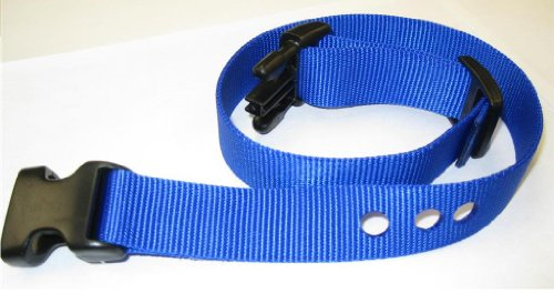 Grain Valley 1 Replacement Strap, Color: Blue. Sold Per Each. Fits Most PetSafe Bark Collars and Many Containment Collars. (No-Bark Collars / Accessories) by Generic