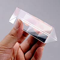 KESOTO Optico Prisma Vidrio Cristal De Precisión Enseñanza