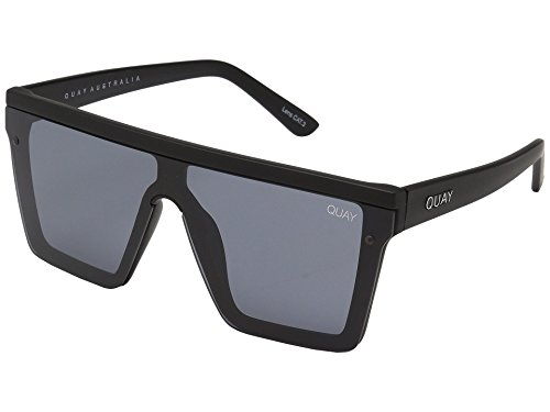 Quay Women's Hindsight Sunglasses, Black/Black, One Size (Quay Shades)