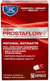 Super Prostaflow+ – Supports Prostate Health and Urinary Health Herbal Supplement with Natural Extracts: Cranberry and Standardized Nettle Root (Beta Sitosterol) – Helps Reduce Bathroom Trips