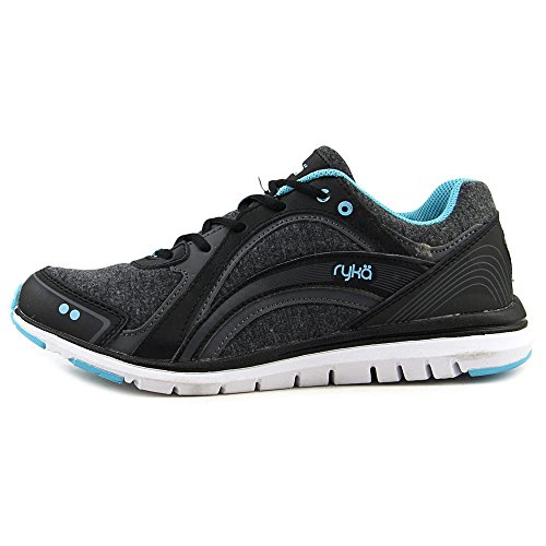 Blue Ryka Grey Shoe Walking Women's Aries Black YgrpTFY