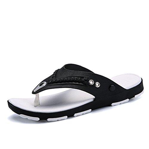 Hombre Goma Zapatillas Bajas Negro eva de Qianliuk wCgqxaXX