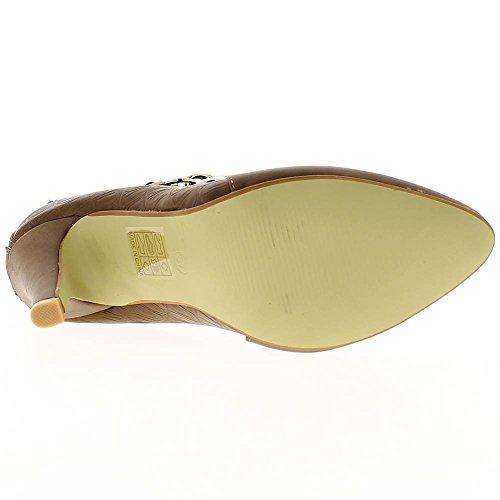 Material Woman Chain bi Boots 9cm Taupe Heel Ankle ChaussMoi wU67qSxOn