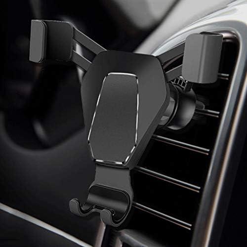 人間の特徴をもつ車の電話ホールダー、安定した出口の電話ホールダー車のホールダー360°のために調節可能IPhone X 8 7 6sプラス5sGalaxy S8 S7 S6およびSmartphone GPSの立場 (色 : D)
