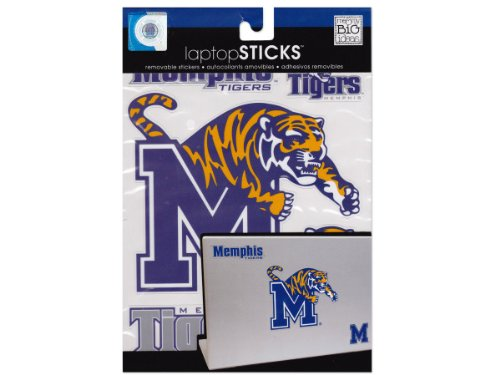 Memphis Tigers Removable Laptop Stickers Computers, Electronics, Office Supplies, Computing