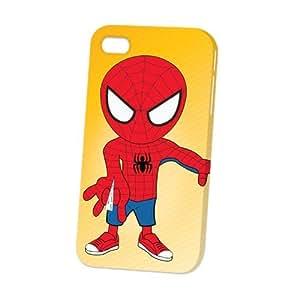 Case Fun Apple iPhone 4 / 4S Case - Vogue Version - 3D Full Wrap - Spiderman Boy