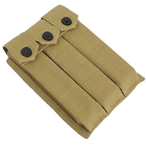 Epic Militaria Replica WW2 US Thompson 3 Cell 30rd Ammo Pouch