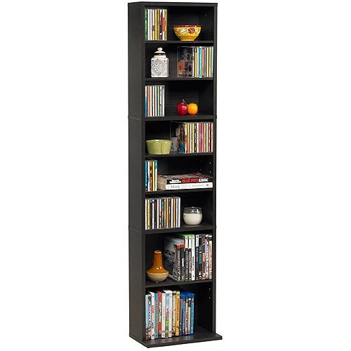 Atlantic Cabinet Office (Summit Media Storage Cabinet, Espresso)