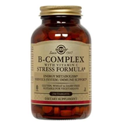 Solgar Vitamina B-Complex con Vitamina C Comprimidos - Envase de 250