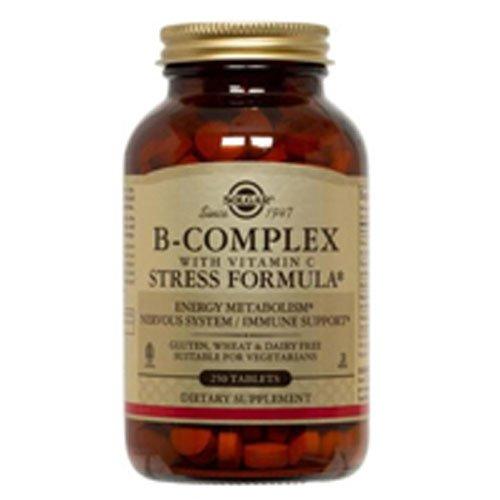 B-Complex w/ C Stress Formula 250 Tab 3-Pack