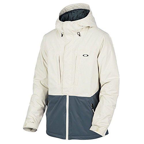 Oakley Snow Jacket (Oakley Trap Line 10K Bzi Jacket, Arctic White, X-Large)