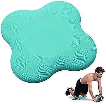 DumanAsen Lot de 2 genouill/ères de Yoga pour Genoux Poignets et Coudes Vert Mains