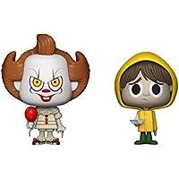 Funko - Figurine Horror - 2-Pack Pennywise & Georgie Vynl 10cm - 0889698292573