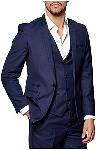 メンズスーツ スリーピース 大きいサイズ 夏 カジュアル ベスト付き ビジネス 結婚式 礼服 大きいサイズ