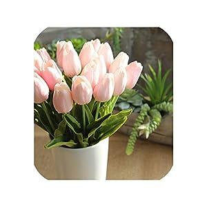 Artificial Flowers Tulip Bouquet Floral Wedding Bouquet Party Home Decor Artificial Flowers for Decoration 94