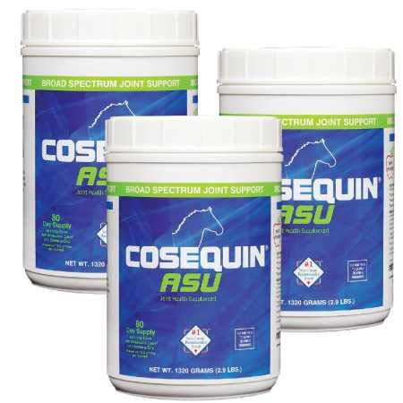 Cosequin 3-Pack ASU Joint Health Supplement Formula for Horses