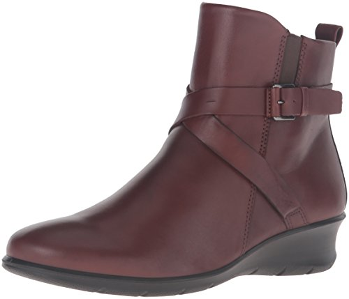 ECCO Women's Felicia Ankle Buckle Boot - Mink - 38 M EU /...