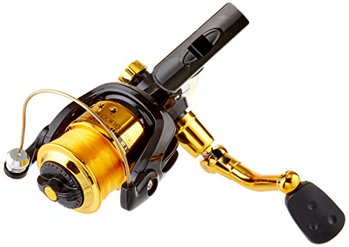Hunter Roddy (Master Fishing Tackle Roddy Hunter Series Reels for F/W-S Front Drag BB Black/Gold Aluminum Spool & Gold Line)