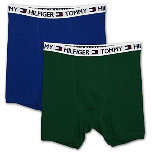 Tommy Hilfiger Big Mens 2 Pack Boxer Brief (RYGR 3X)