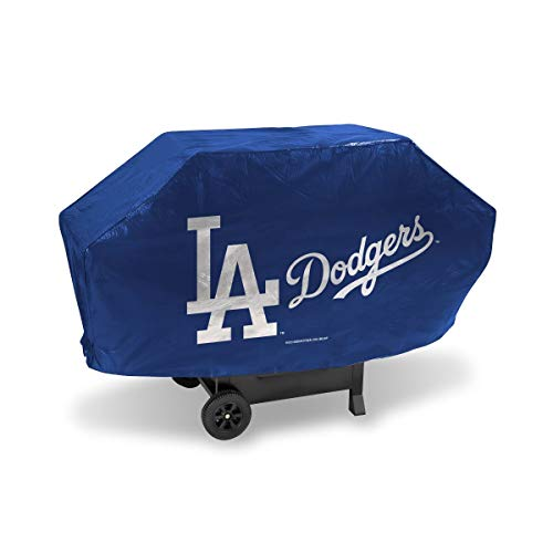 MLB Los Angeles Dodgers LA Logo Deluxe 68-inch Grill Cover