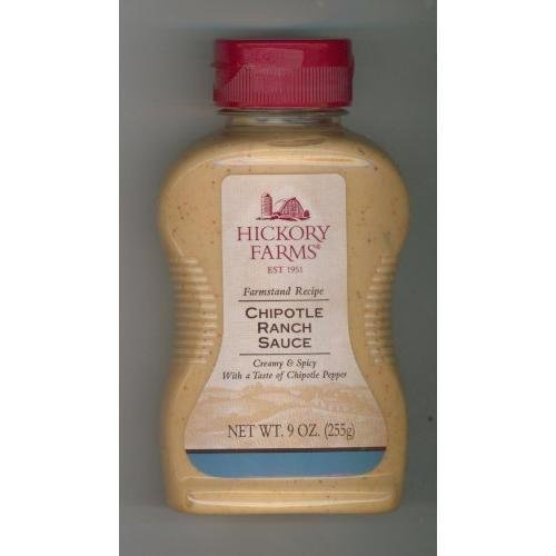 Hickory Farm Chipotle Ranch Sauce New, 9 oz
