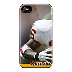 Bumper Hard Cell-phone Cases For Iphone 6 With Support Your Personal Customized Vivid Washington Redskins Image SherriFakhry
